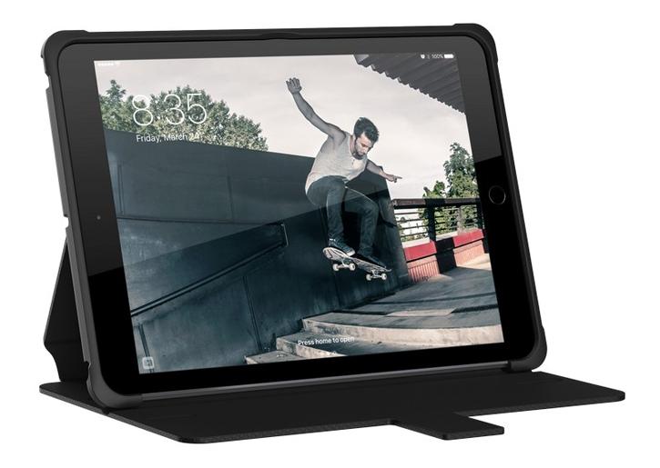 Coque iPad Air UAG Metropolis Rugged Wallet – Noire