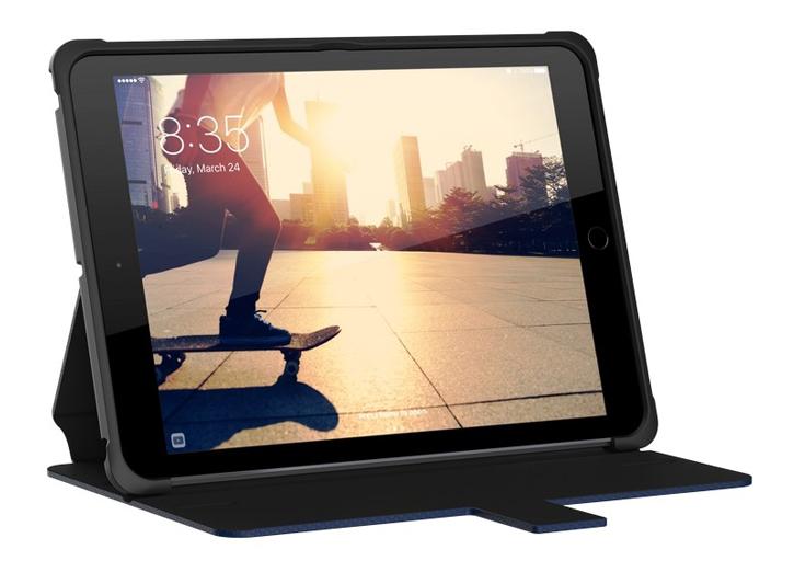 Coque iPad 9.7 2018 UAG Metropolis robuste – Bleue Cobalt