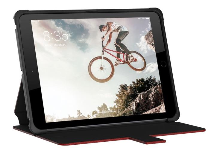 UAG Metropolis Rugged iPad 2017 Wallet Case - Magma Red