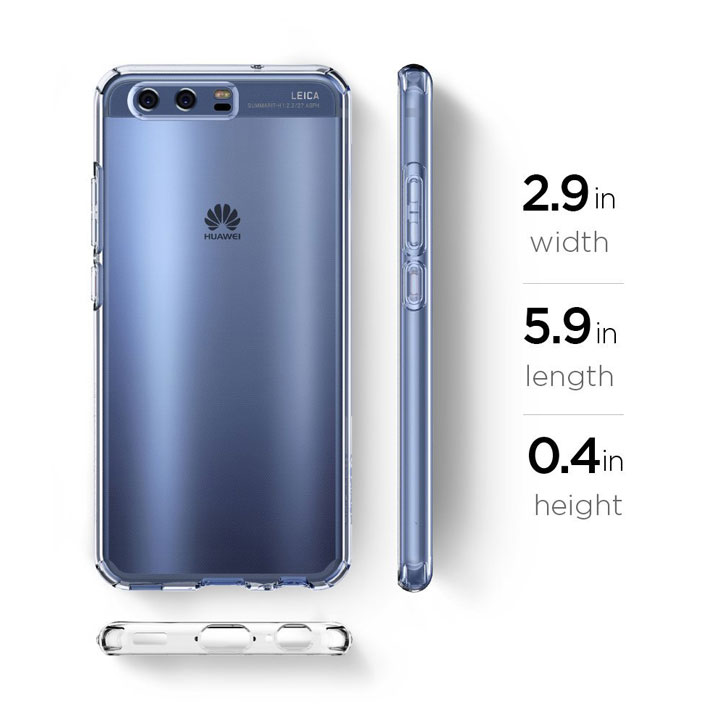 Spigen Liquid Crystal Huawei P10 Lite Shell Case - Clear
