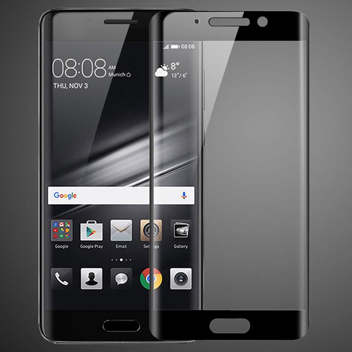 Olixar Huawei Mate 9 Pro Edge To Edge Glass Screen Protector - Black