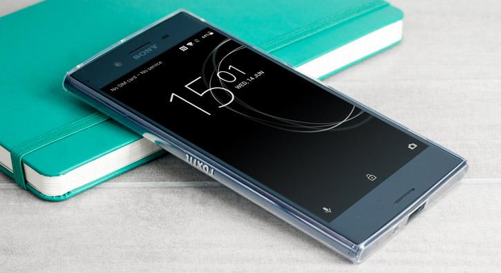 Roxfit Sony Xperia XZ Premium Pro Ultra Slim Soft Shell Case - Clear