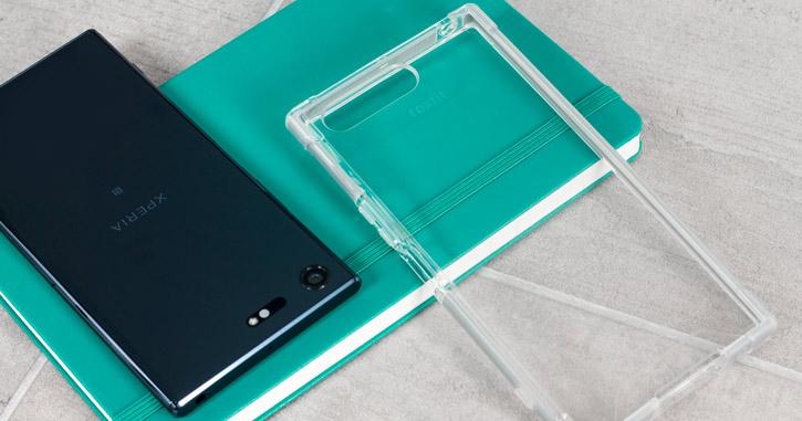 Roxfit Sony Xperia XZ Premium Pro Impact Gel Shell Case - Silver