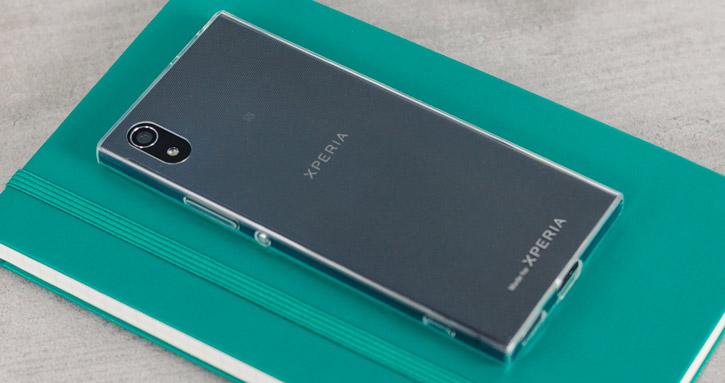 Coque Sony Xperia XA1 Roxfit Pro Ultra Slim Soft Shell – Transparente vue sur appareil photo