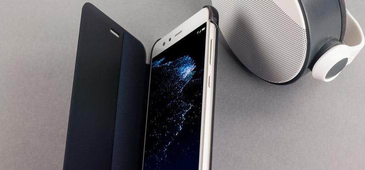 Official Huawei P10 Lite Smart View Flip Case - White
