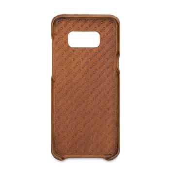 Vaja Grip Samsung Galaxy S8 Plus Premium Leather Case - Brown