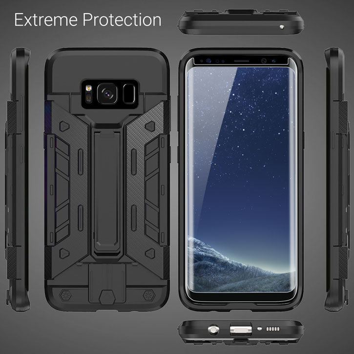 Olixar Extreme Protection Galaxy S8 Plus Case Amp Glass