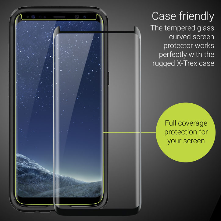 Olixar Extreme Protection Galaxy S8 Plus Case & Glass Screen Protector