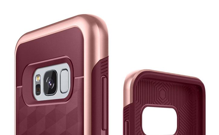 Caseology Parallax Series Samsung Galaxy S8 Plus Case - Burgundy