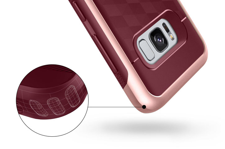 Caseology Parallax Series Samsung Galaxy S8 Plus Case - Black