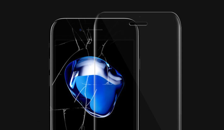 Whitestone Dome Glass iPhone 7 Plus Full Cover Screen Protector