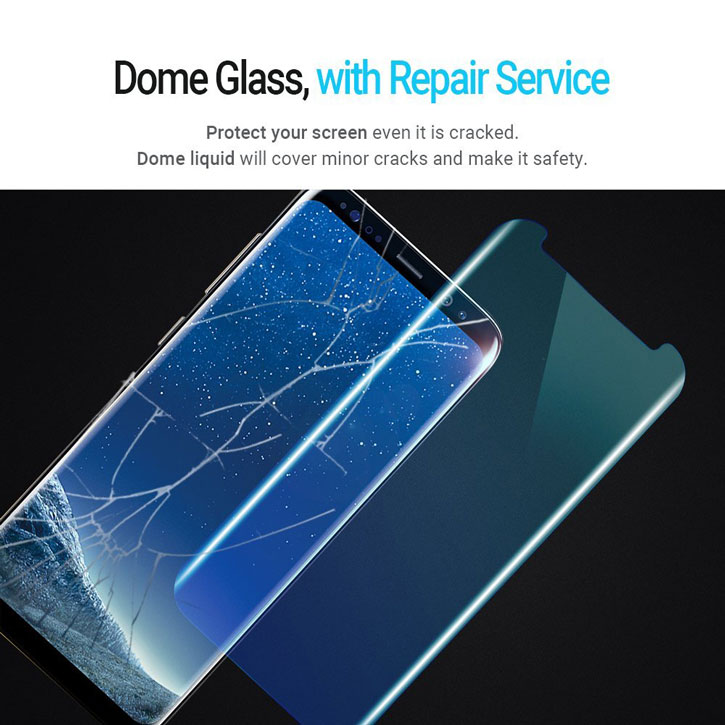 Proteggi schermo completo Whitestone Dome Glass Samsung Galaxy S8