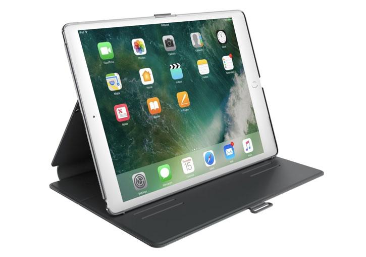 Speck StyleFolio Apple iPad 2017 Case - Stormy Grey / Charcoal Grey