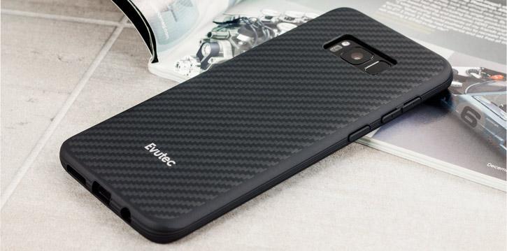 Evutec AER Karbon Samsung Galaxy S8 Plus Tough Case - Black