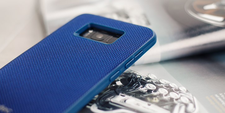 Evutec AERGO Ballistic Nylon Samsung Galaxy S8 Plus Tough Case - Blue