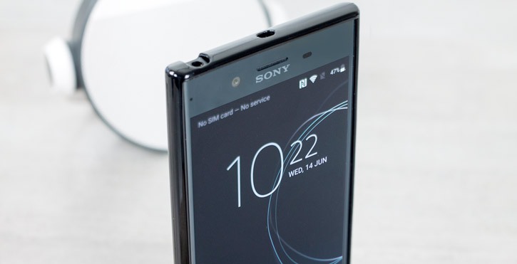 Olixar FlexiShield Sony Xperia XZ Premium Gel Case - Black