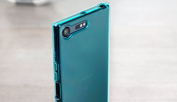 Olixar FlexiShield Sony Xperia XZ Premium Gel Case - Blue