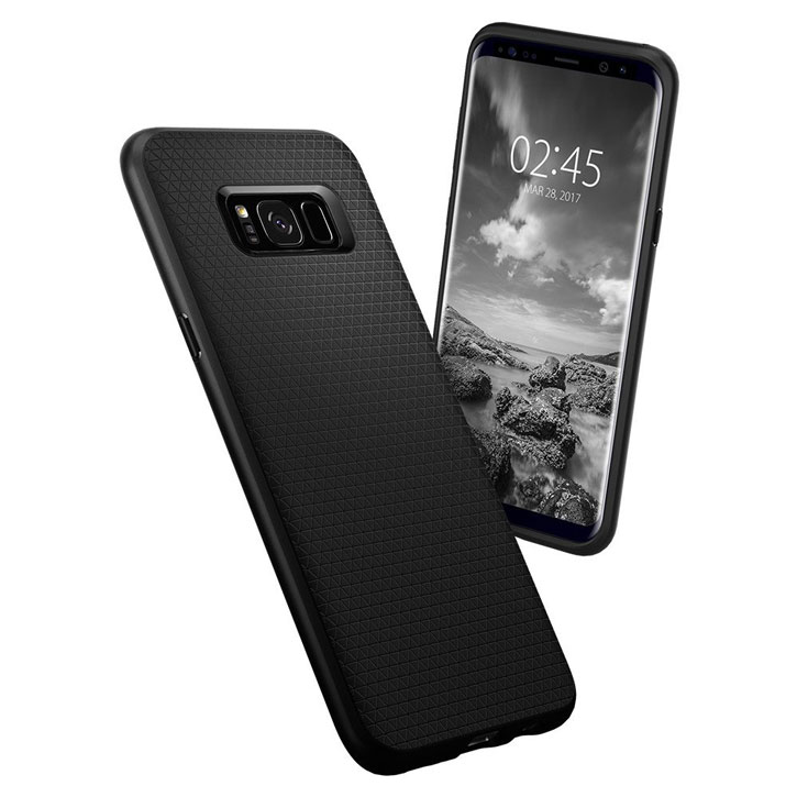 Spigen Liquid Air Armor Samsung Galaxy S8 Plus Case - Black