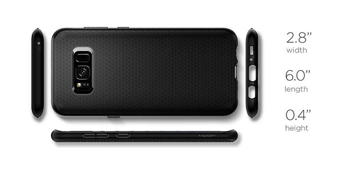 29a7dcb11d3 Spigen Liquid Air Armor Samsung Galaxy S8 Case - Black