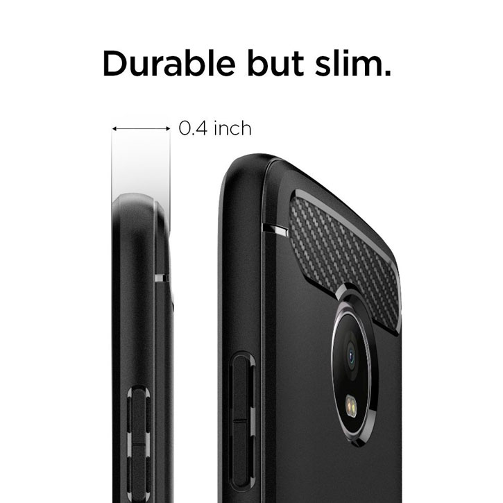 Spigen Rugged Armor LG G6 Tough Case - Black