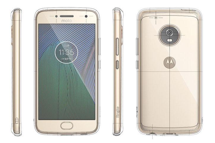 Rearth Ringke Fusion Motorola Moto G5 Plus Case - Clear
