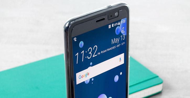 Olixar Ultra-Thin HTC U11 Gel Case - 100% Clear