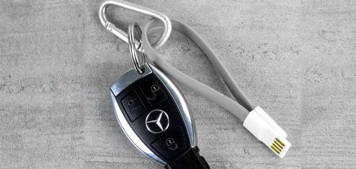 STK Kurzes Magnetische Micro USB Lade und Sync-Kabel - Grün