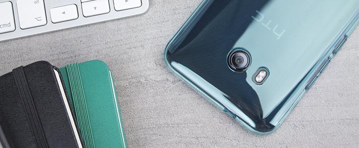 Olixar FlexiShield HTC U11 Gel Case - Blue