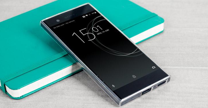 Olixar Ultra-Thin Sony Xperia XA1 Gel Case - 100% Clear