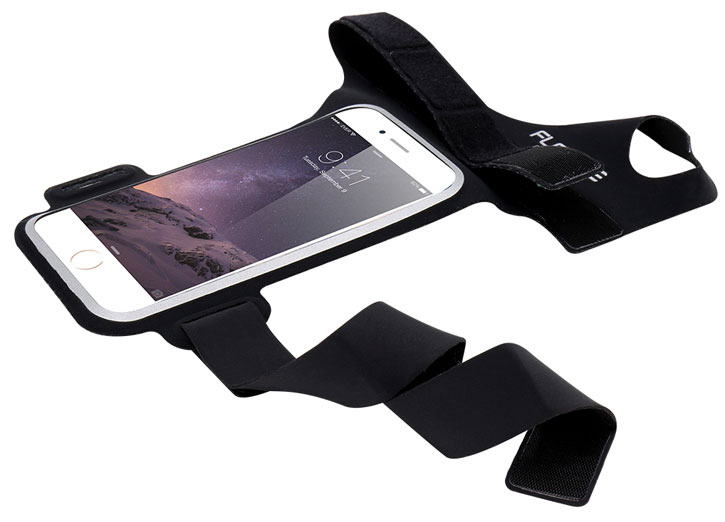 "Floveme Universal Sports Armband for Smartphones up to 4.7"" - Black"