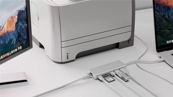 Goobay Premium USB-C Multiport 4K HDMI & USB Adapter - Silver