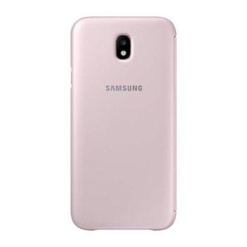 Official Samsung Galaxy J7 2017 Wallet Cover Case - Pink