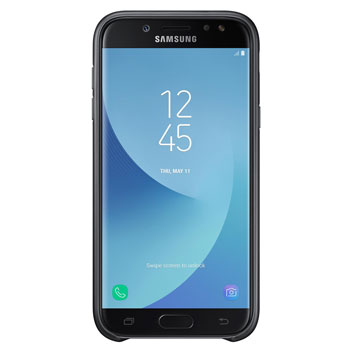 Official Samsung Galaxy J7 2017 Dual Layer Cover Case - Black