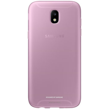 Official Samsung Galaxy J7 2017 Jelly Cover Case - Pink