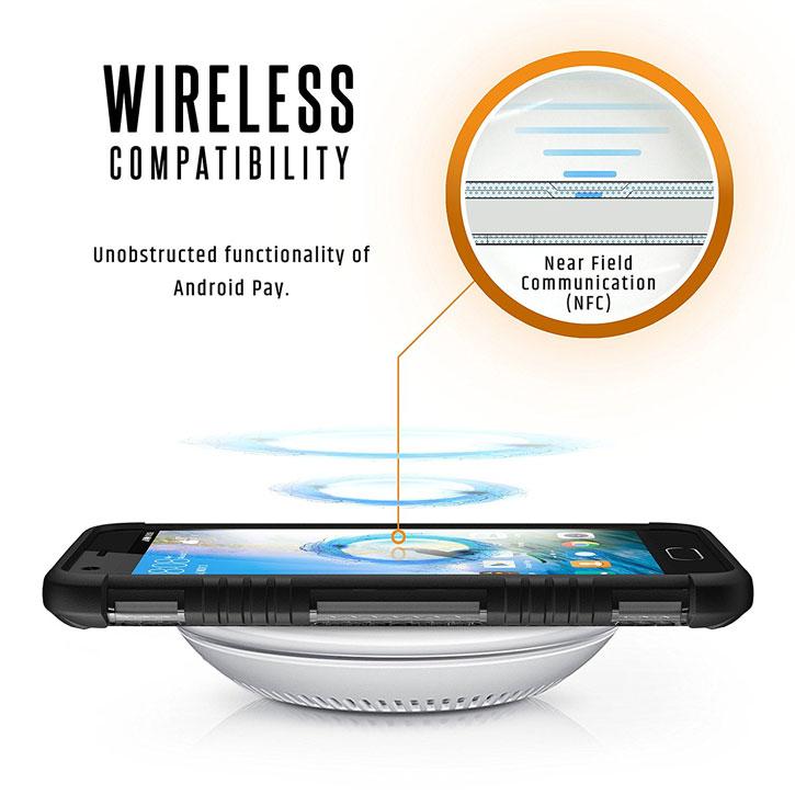 Coque Huawei P10 Plus UAG Plasma – Glace / Noire