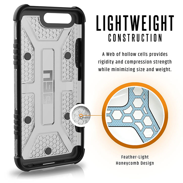 UAG Plasma Huawei P10 Plus Protective Case - Ice / Black
