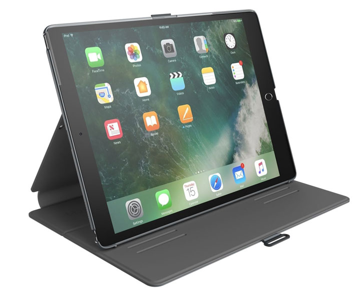 Speck Balance Folio iPad Pro 10.5 Case - Stormy Grey / Charcoal Grey