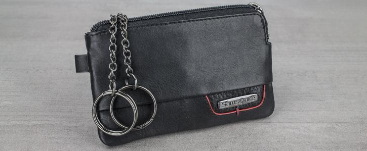 Samsonite Pro DLX Genuine Leather RFID Blocking Wallet Gift Set