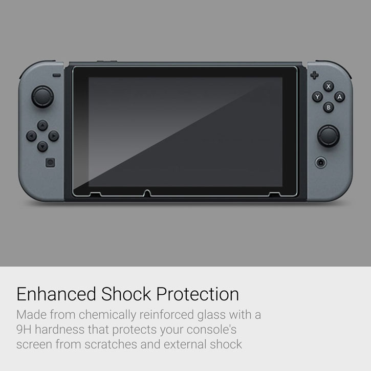Protection d'écran en Verre Trempé Nintendo Switch - Pack de 2