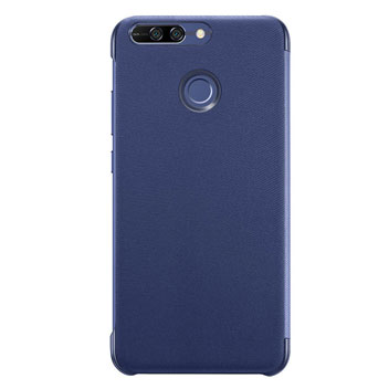 Official Huawei Honor 8 Pro Flip View Cover - Blue