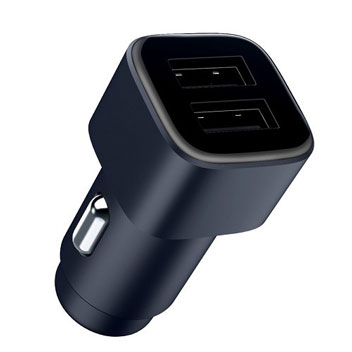 Official Nokia Dual USB 2.4A Car Charger - Black