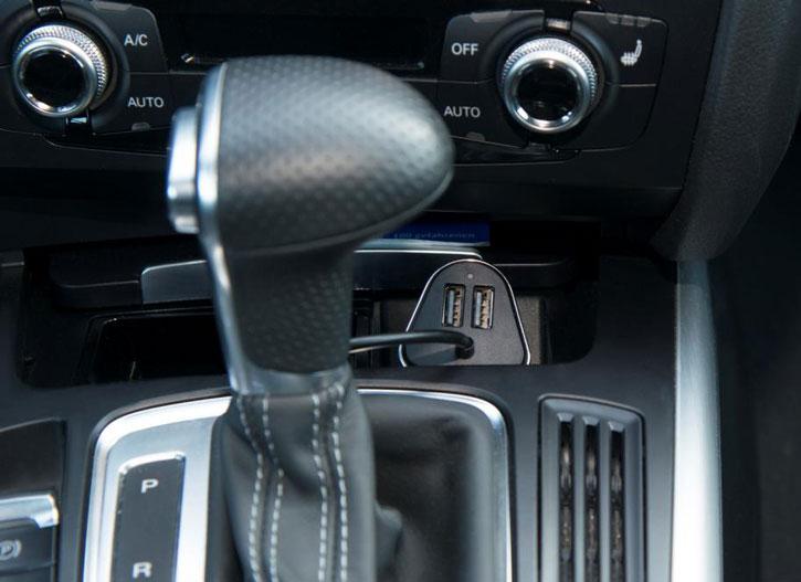 4smarts Crew 4x USB 9.6A Car Charger - Black