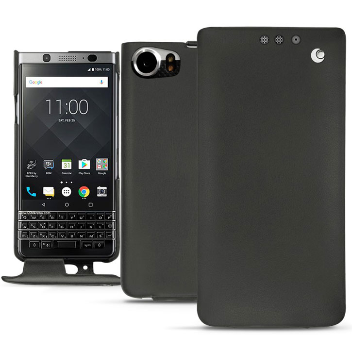 Noreve Tradition BlackBerry KeyONE Premium Leather Flip Case