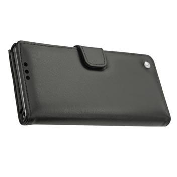 Noreve Tradition B BlackBerry KeyONE Premium Wallet Leather Case