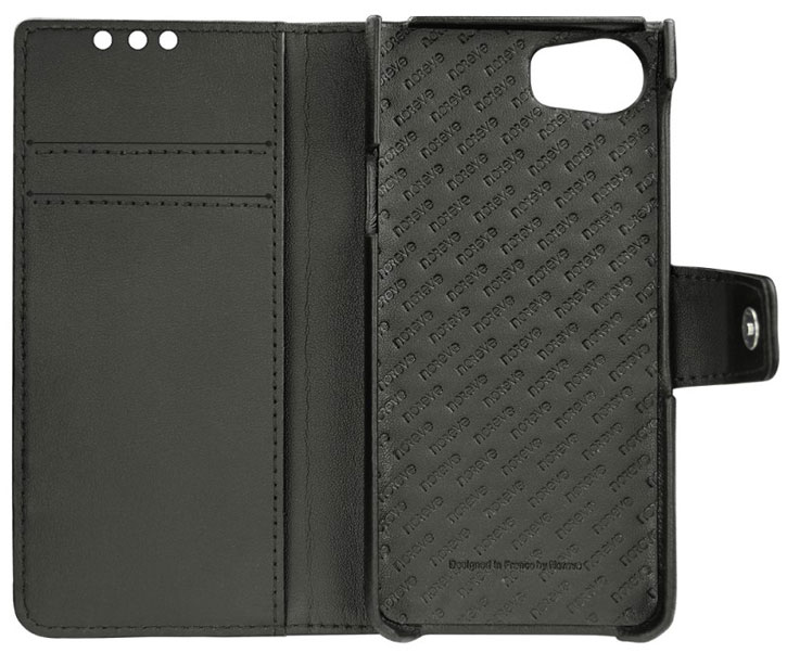 Noreve Tradition B BlackBerry KeyONE Premium Wallet Leather Case