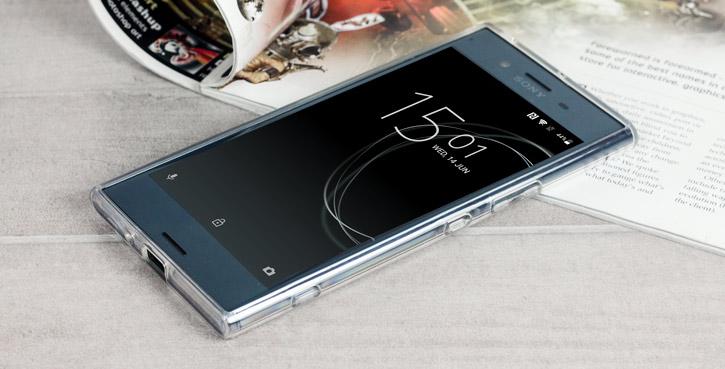 Cruzerlite Bugdroid Circuit Sony Xperia XZ Premium Case - Clear