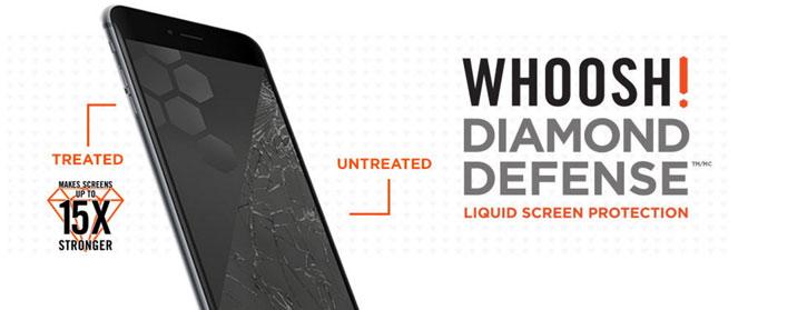 Whoosh! Diamond Defense Liquid Screen Protection