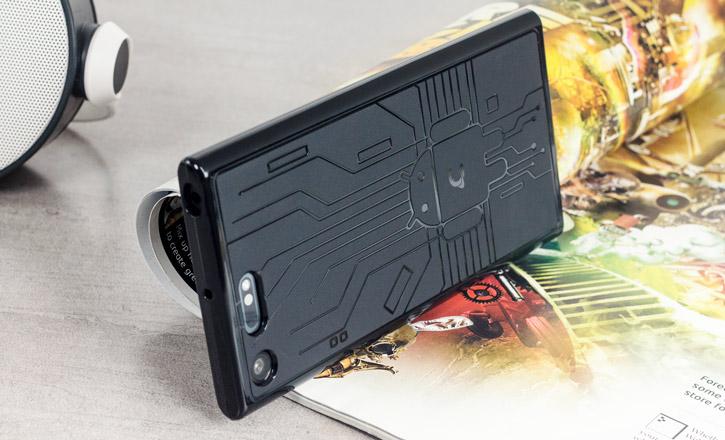 Cruzerlite Bugdroid Circuit Sony Xperia XZ Premium Case - Black