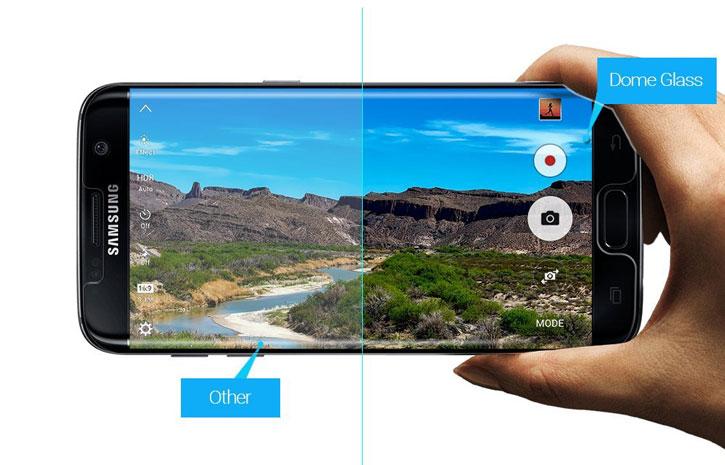 Whitestone Dome Glass Samsung Galaxy S8 Full Cover Screen Protector