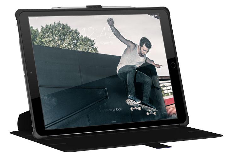 UAG Metropolis Rugged iPad Pro 12.9 2017 Wallet Case - Black